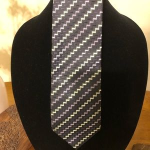 Alexander Julian Paisley Colours Purple Tie